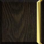 Weathered Oak & Satin Brass
